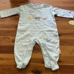 🎉HP🎉NWT Lemon Frog Little Traveler Onesie👶🏼✈️